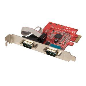 Lindy 51187 - Carte PCIe série 16C950 2 ports