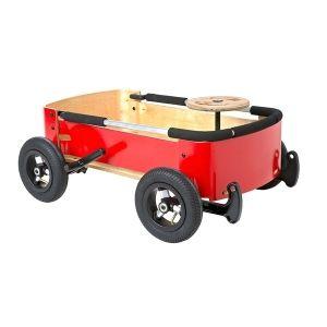 Wishbone Chariot Wagon boite à savon en bois
