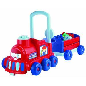 Ecoiffier Porteur Pouss'Express et wagon