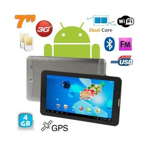 "Yonis Y-tt56g4 - Tablette tactile 7""4 Go 3G sous Android 4.0 GPS"