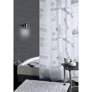 Galedo Rideau de douche en PVC (180 x 200 cm)