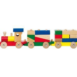 Goki WP 304 - Train Rom avec 13 briques de construction