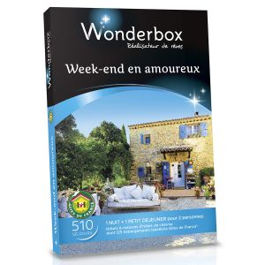 coffret wonderbox week end en amoureux comparer 7 offres. Black Bedroom Furniture Sets. Home Design Ideas
