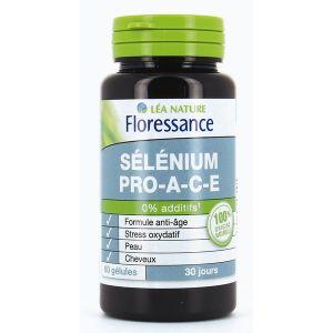 Floressance Sélénium Pro A-C-E - 60 gélules