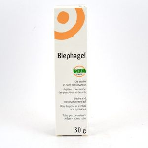 Théa Blephagel - Tube Airless pour l'hygiène des paupières et des cils