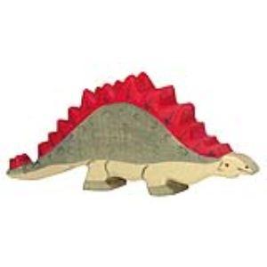 Holztiger Figurine dinosaure : Stégosaure en bois
