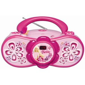 Lexibook RCD150BB - Radio CD Barbie