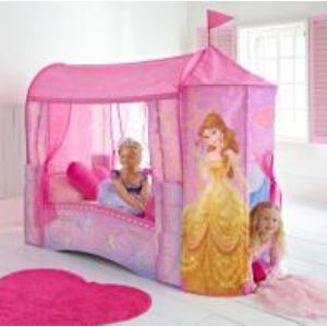 Lit Château de Princesse Disney (70 x 140 cm)