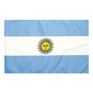Drapeau supporter Argentine 150 x 90 cm