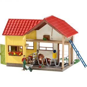 Schleich 42334 - Grange avec animaux et accessoires