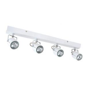 Corep Barre quadruple spots orientables Loft en métal (55,5 cm)