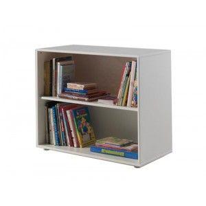 Vipack Furniture Lit Pino mezzanine, bureau et bibliothèque pour enfant