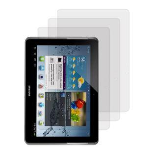 """Kwmobile 12192 - 3 Films de protection mats et anti-reflets avec effet anti-traces de doigts pour Samsung Galaxy Tab 2 10.1"""" P5100 et P5110"""
