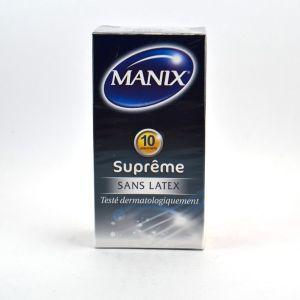 Manix Suprême sans latex - 10 préservatifs