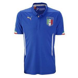 Puma 744288 - Maillot de foot à domicile Italie Coupe du Monde 2014 homme