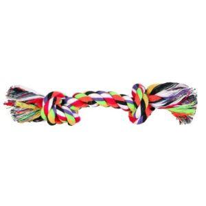 Trixie Corde multicolore pour chien