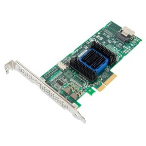 Adaptec 2278000-R ASA-6405H - Contrôleur de stockage 4 Canal SATA / SAS 6Gb s PCIe 2.0 x4