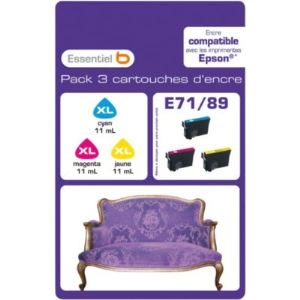 epson multipack t0715 comparer 16 offres. Black Bedroom Furniture Sets. Home Design Ideas
