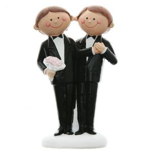 Santex 4939-1 - Figurine couple de mariés Mr & Mr