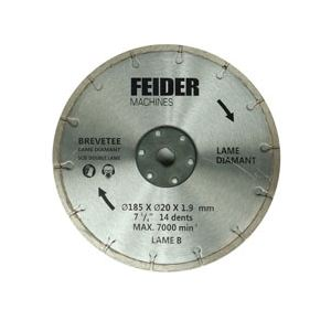 Feider FDL185 - Lame diamant 185 mm