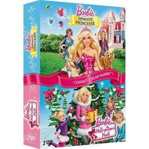 Coffret Barbie - Merveilleux Noël + Apprentie Princesse