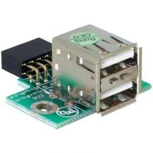 Delock 41764 - USB Pinheader 2x USB 2.0