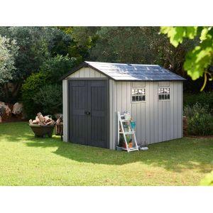 Keter Brossium 7511 - Abri de jardin résine 8 m²