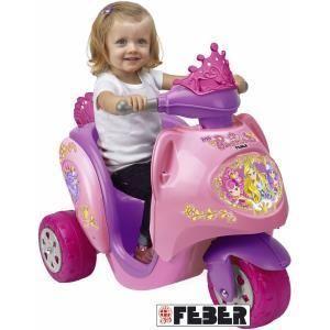 Feber Scooter électrique Scooty Princesse
