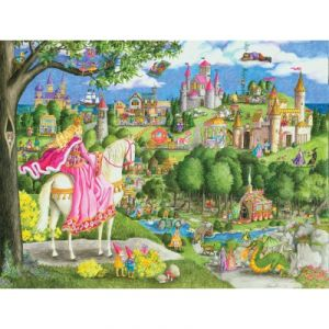 Ravensburger Princesse château - Puzzle géant de sol 24 pièces