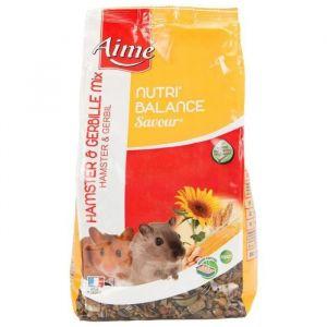 Aimé Nutri'balance Savour Mix pour hamster et gerbille 900 g