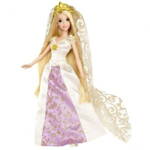 Mattel Poupée Raiponce mariée