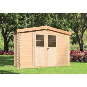 Chalet et jardin pivoine abri de jardin en bois 5 m2 for Chalet de jardin prix