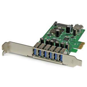 StarTech.com PEXUSB3S7 - Carte contrôleur PCI Express à 7 ports USB 3.0