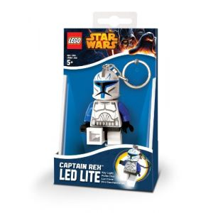 Lego Lg0ke42 -  Porte clé led Star Wars Clone Captain Rex