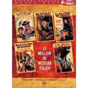 Coffret Le Meilleur du Western Italien - Le Dernier jour de la colère + Un pistolet pour Ringo + Le Retour de Ringo + Pas de Pitié pour les Salopards + Avec Django, la mort est là