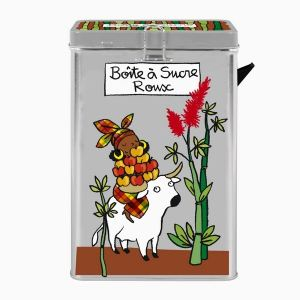 Derrière la porte Boîte à sucre en poudre Roux avec bec verseur