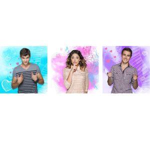 3 tableaux Violetta Disney