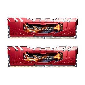 G.Skill F4-2666C15D-8GRR - Barrettes mémoire RipJaws 4 Series 8 Go (2x 4 Go) DDR4 2666 MHz CL15 DIMM