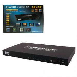 MCL Samar MP-HDMI3D/8 - Multiplicateur HDMI 3D 4K2K 1 entrée et 8 sorties