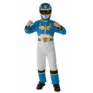 Rubie's Déguisement Power Rangers Megaforce bleu garçon (5 à 8 ans)