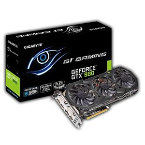 GigaByte GV-N980G1 GAMING-4GD - Carte graphique GeForce GTX 980 4 Go DDR5 PCI-Express