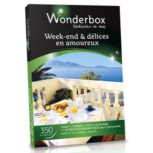 88 offres coffret week end wonderbox comparez avant d 39 acheter en ligne. Black Bedroom Furniture Sets. Home Design Ideas