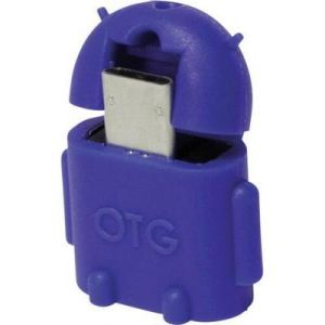 Logilink Adaptateur USB 2.0 micro B mâle vers type A femelle