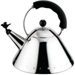 Alessi 9093 - Bouilloire à sifflet en bec d'oiseau 2 L