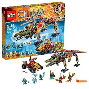 Lego 70227 - Legends of Chima : Le sauvetage de Roi Crominus