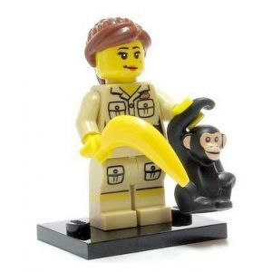 Lego Mini-figurine Zoo Keeper (Série 5)