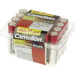 Camelion 24 piles AAA alcalines 1,5V
