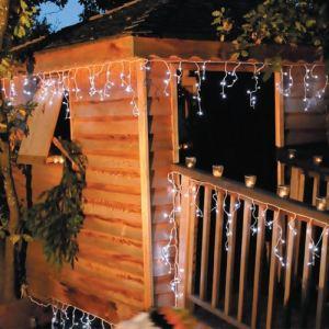 Blachère illumination Guirlande d'extérieur stalactites 288 LED (22 m)