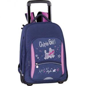 Chipie Love et Style - Sac à dos à roullettes 49 cm