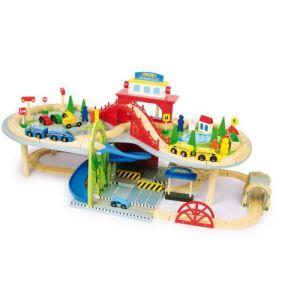 Legler 1559 - Chemin de fer à deux niveaux en bois